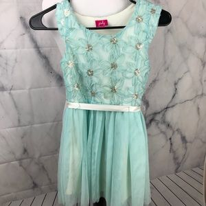Little girls Easter dress sz 8